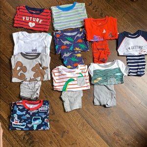 2T/24 months Short sleeve/shorts pajamas